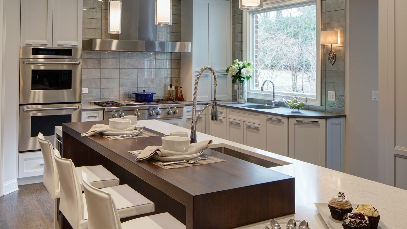 Remodel Designer Contemporary Suburban Kitchen Remodel Drury Design