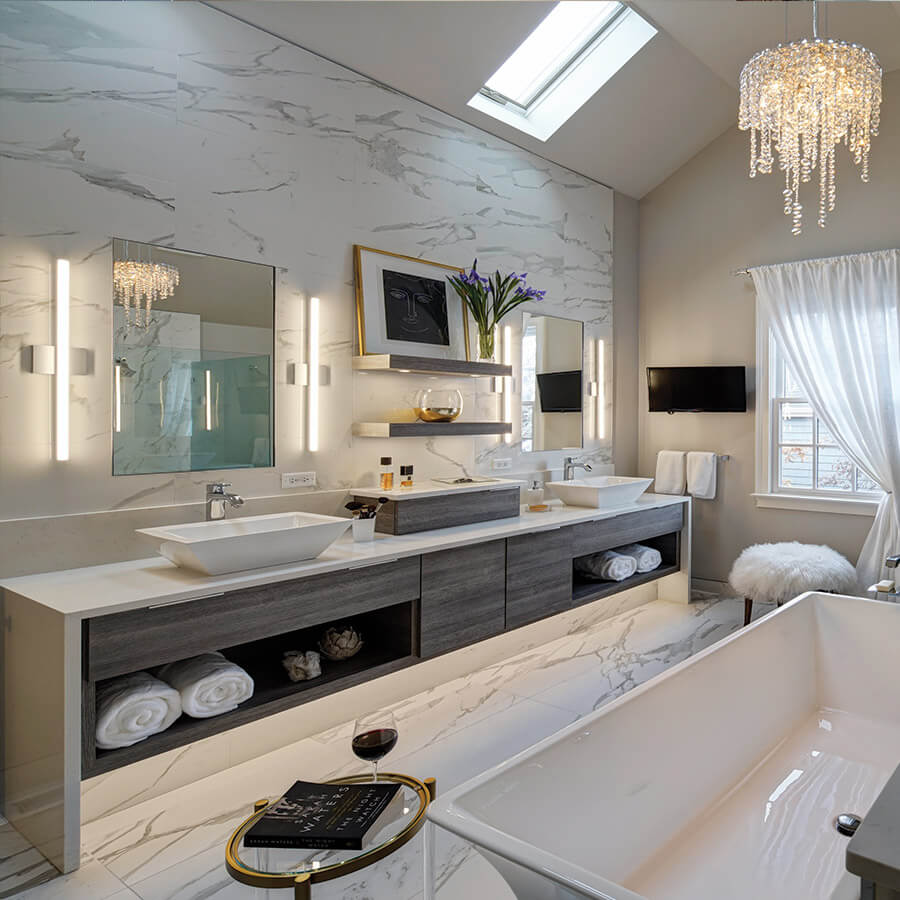 Modern Bathroom Design Drury Design