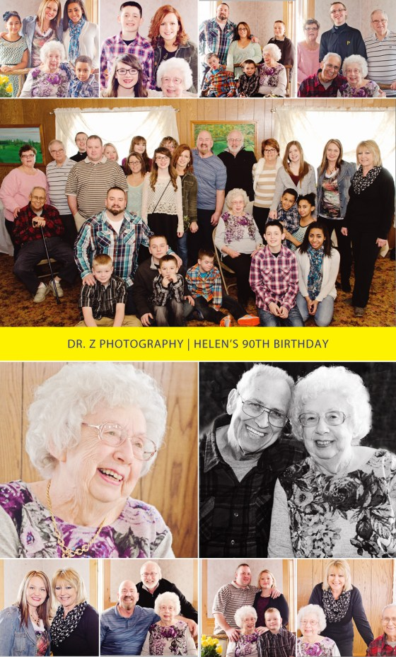 90th birthday party at Rolling Hills Golf Course, Pulaski, PA   Dr. Z Photography   Youngstown, OH