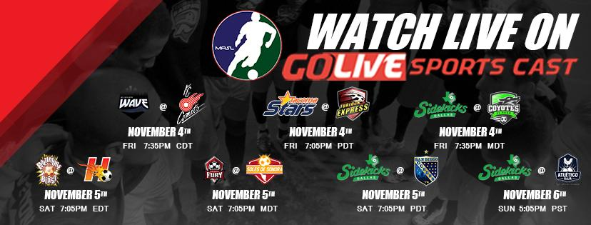 MASL Week Two Preview - Major Arena Soccer League - how to make a league schedule