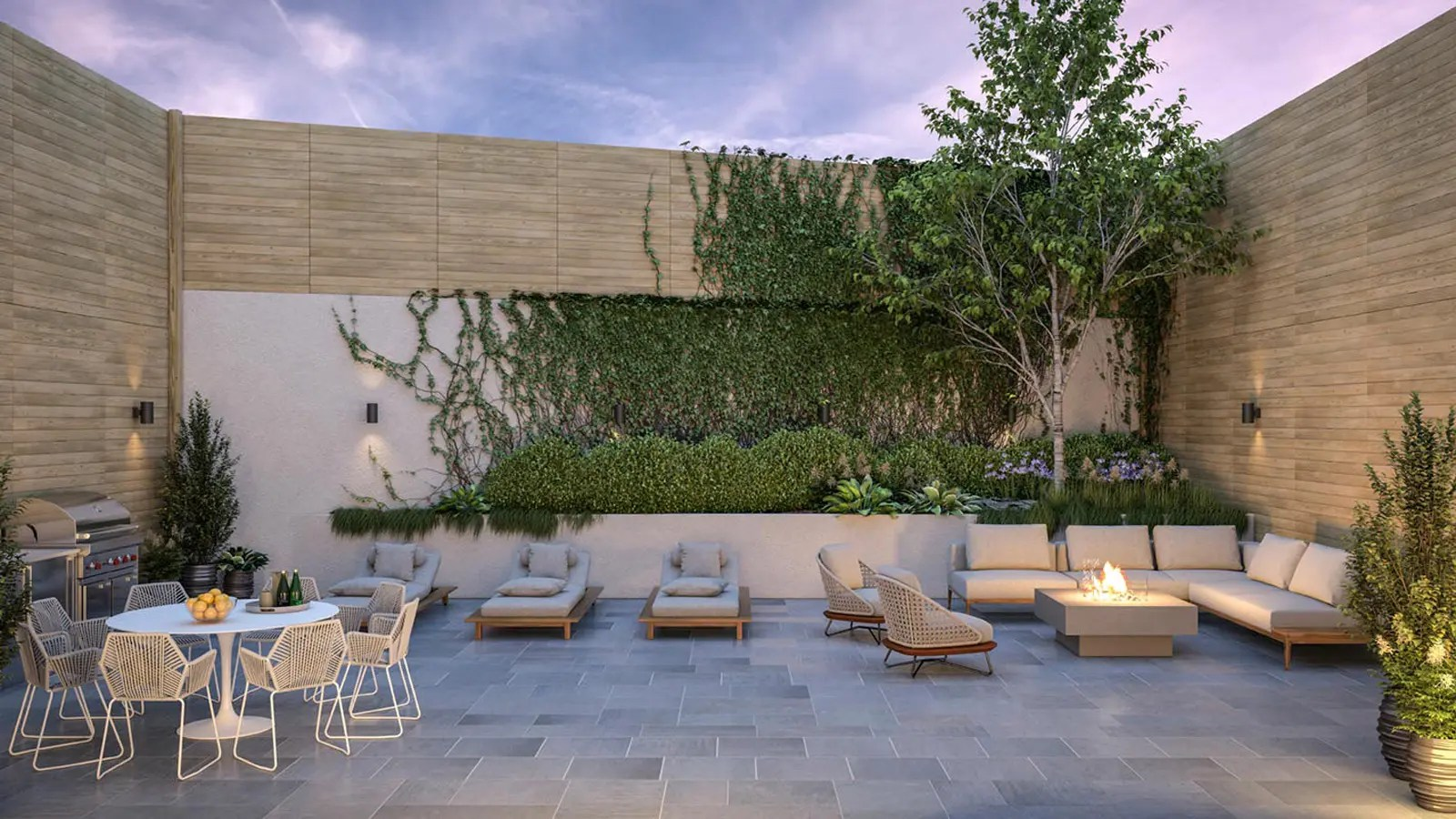 Outdoor Living Northside Sixth Meyer 278 North 6th Street Nyc Condo Apartments