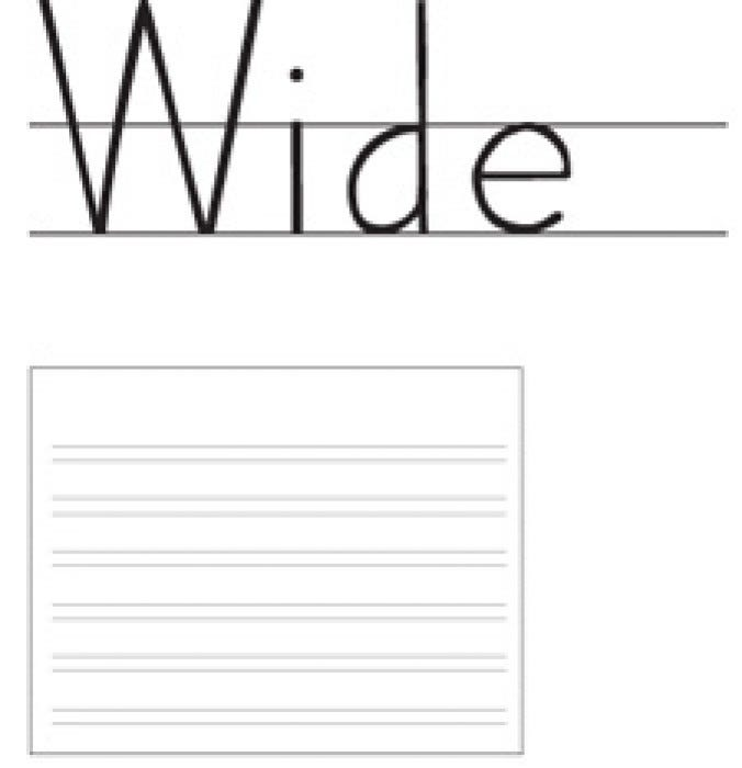 Handwriting Without Tears Paper - Handwriting - Fine Motor - Motor