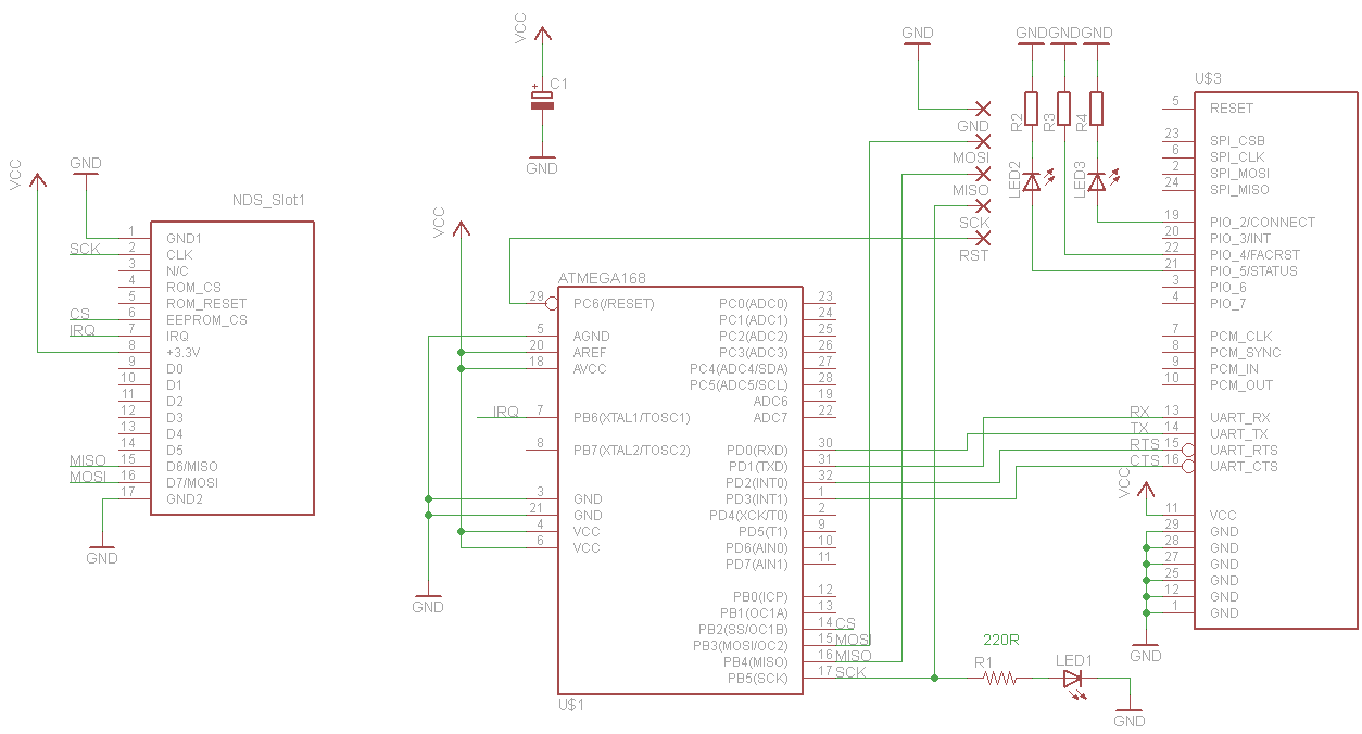geiger counter with usb interface schematics