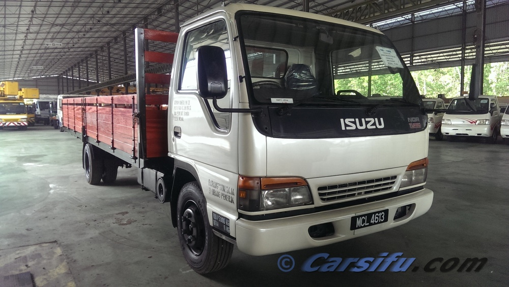 Isuzu Elf Nqr 70 Wooden Cargo For Sale In Klang Valley By
