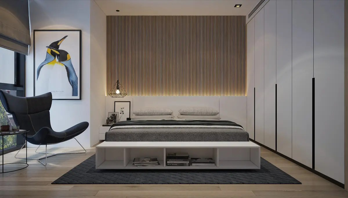 Vertical Wood Slat Wall Thin Vertical Wood Slats For Bedroom Accent Wall D Signers