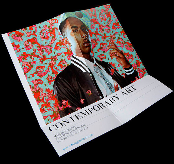 Best Contemporary Art Print Brochures Posters images on Designspiration - contemporary flyer