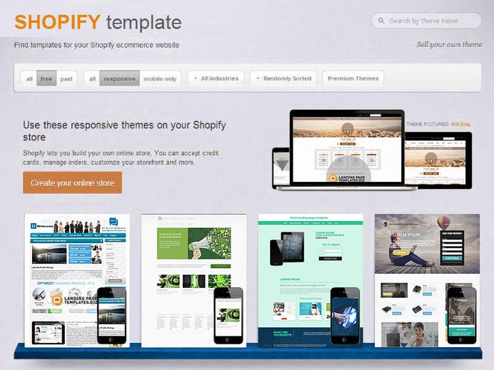 Best Template Shop Shopify Online Serivce images on Designspiration