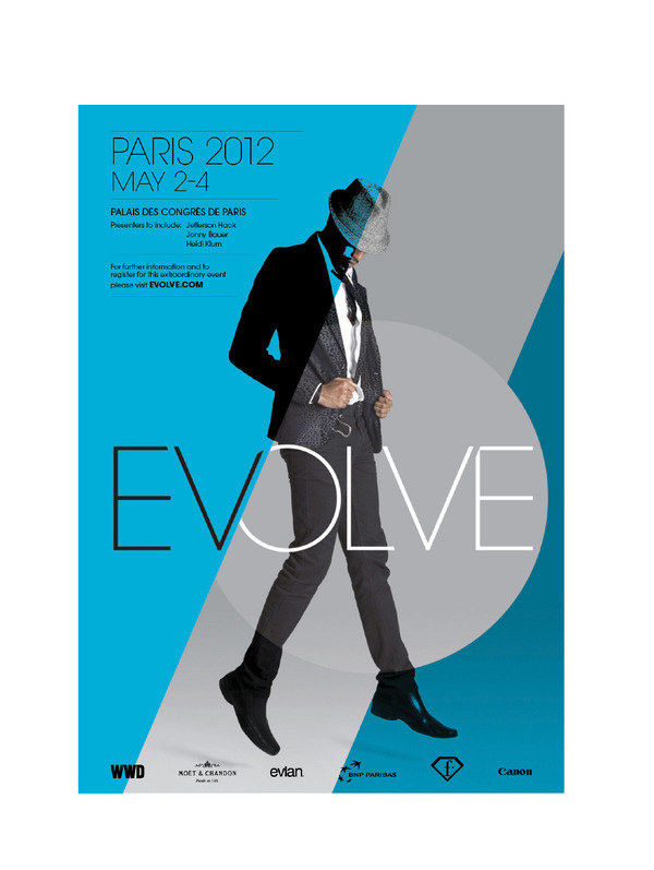 Best Evolve Posters Fashion Symposium Peter images on Designspiration - fashion poster design