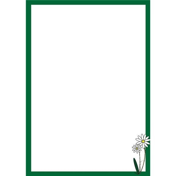 green page borders - Towerssconstruction