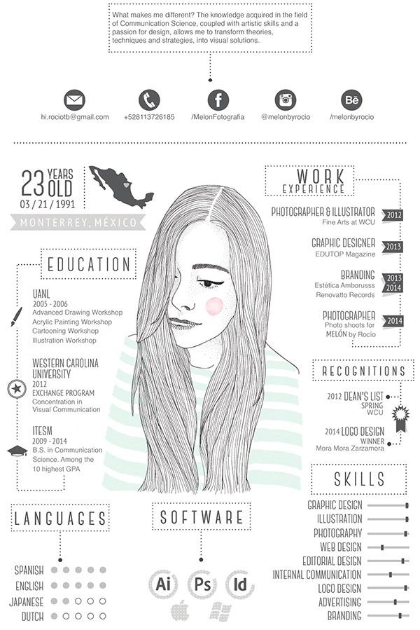 Best Cv Eigencommunicatie Resume Behance Illustration images on - my cv resume