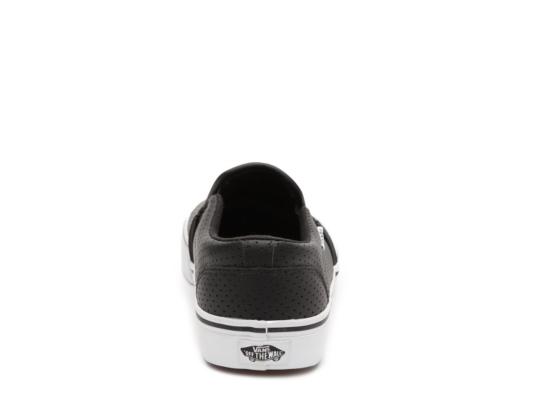 Vans Asher Perforated Leather Slip On Sneaker Men39s Men