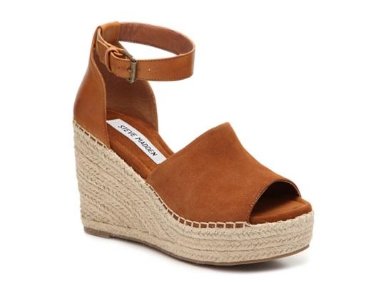 Steve Madden Jaylen Wedge Sandal Women39s Shoes Dsw