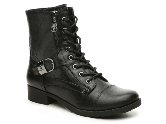 G By Guess Brittain Combat Boot Women39s Shoes Dsw