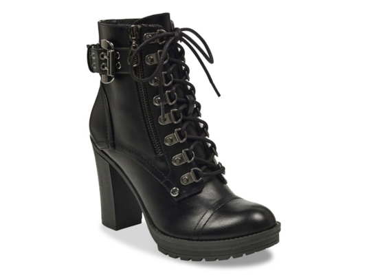 G By Guess Gimmy Combat Boot Women39s Shoes Dsw
