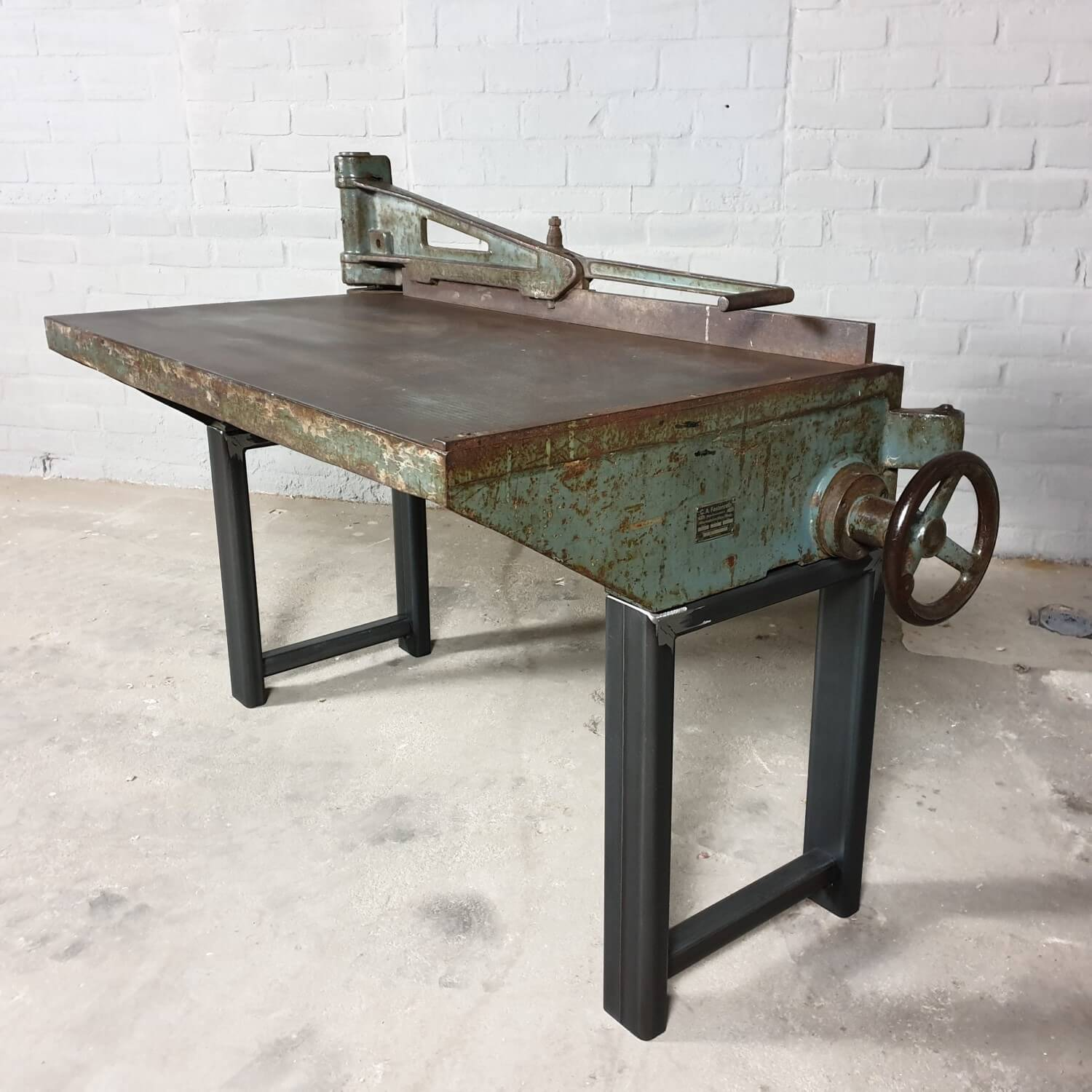 Vintage Fotos Vintage Workbench From Old Industrial Machine - Dt69