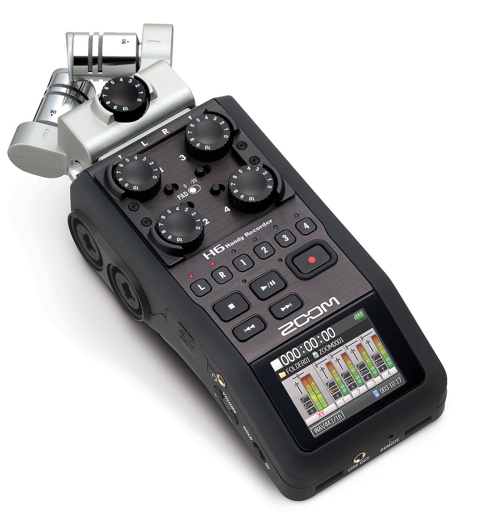 Zoom H6 Recorder Zoom H6
