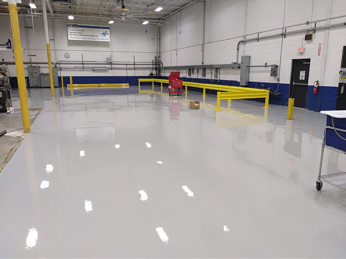 Epoxy Garage Floor Expansion Joints Floor Coatings South Jersey Request An Estimate Dj S Painting