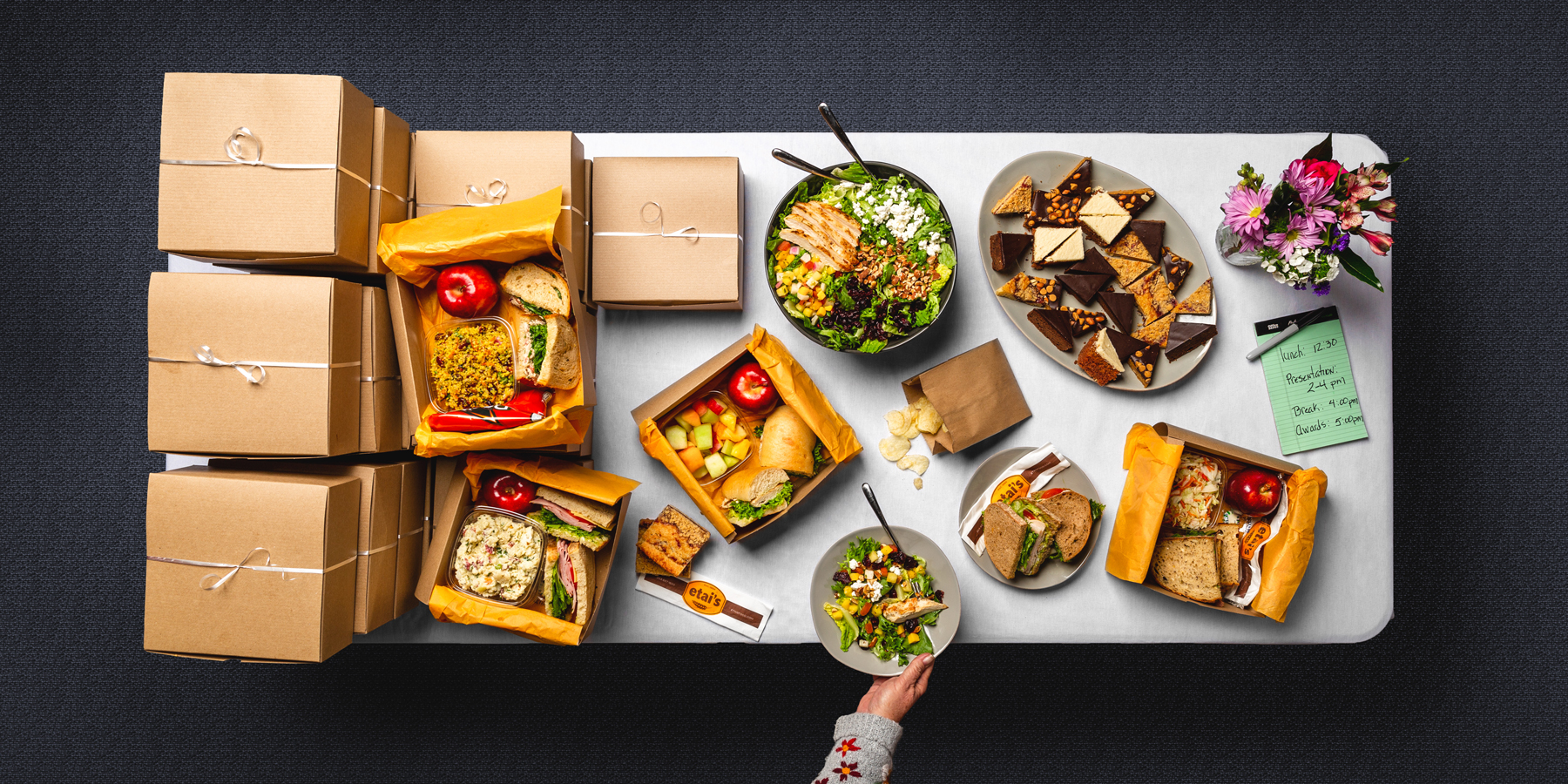 Lunch In A Box Denver Lunch Catering Box Lunches Etai S Catering