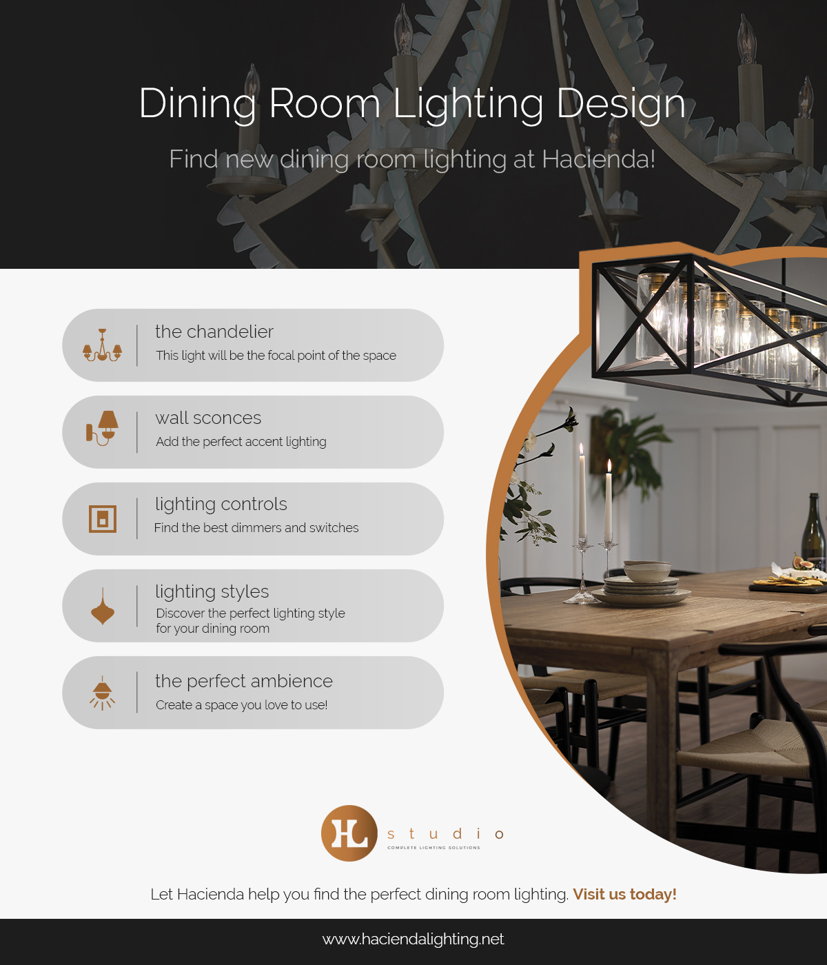 Dining Room Lighting Scottsdale Find The Perfect Options