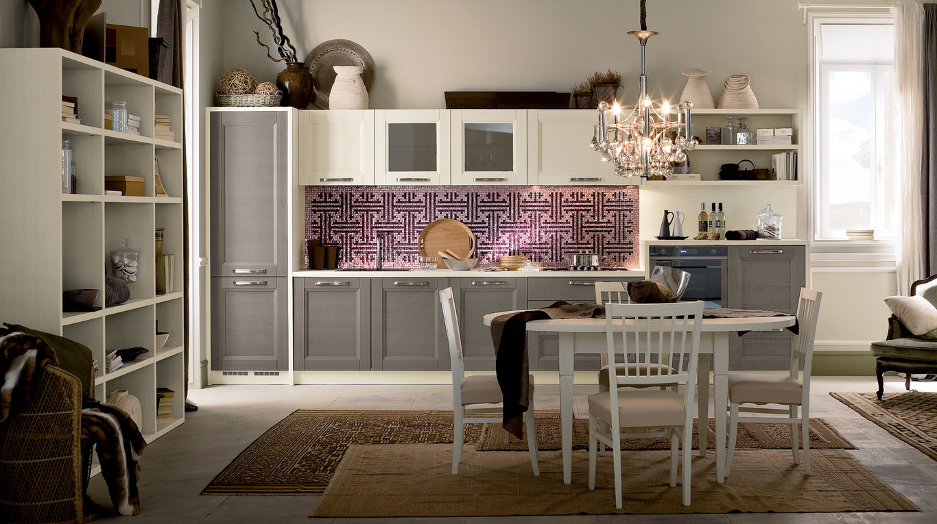 Cucina Veneta Shabby Luxury Kitchen In Manhattan Tradizone Veneta Cucine
