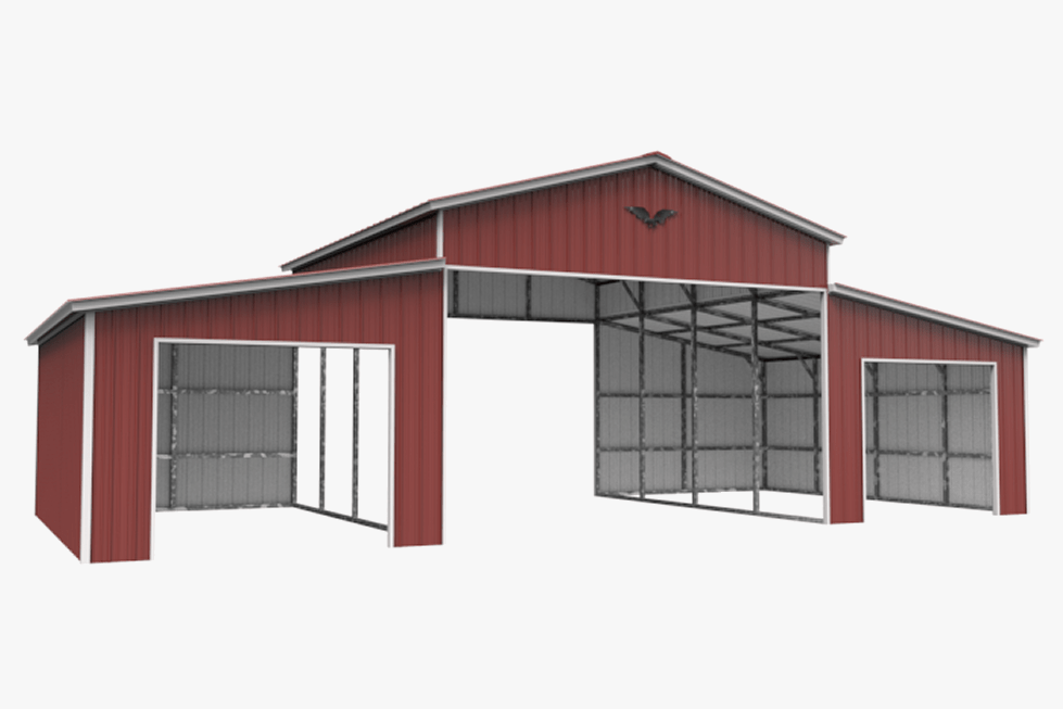 Get A Quote For Your Metal Horsebarn Wholesale Direct - Metal Overhang Carport