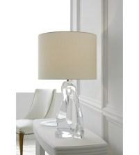 Visual Comfort ARN 3100CG-L AERIN Modern Cannes Table Lamp ...