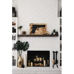 Small Crop Of White Brick Fireplace