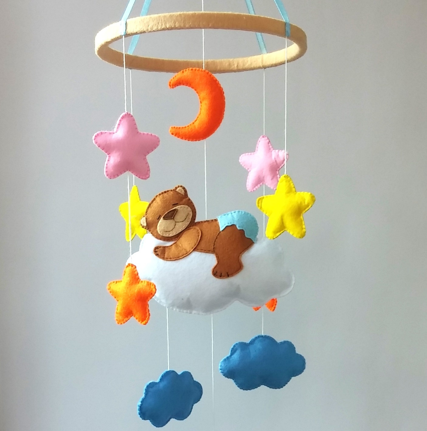 Crib Mobile Baby Mobile Nursery Decor Baby Crib By Zootoys