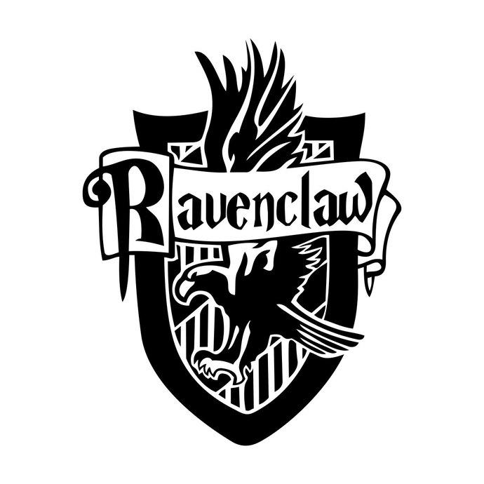 Ravenclaw Harry Potter House Badge Crest by vectordesign on Zibbet