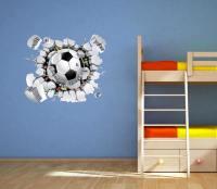 Football Wall Decal Soccer Wall Art Sticker Mural by ...