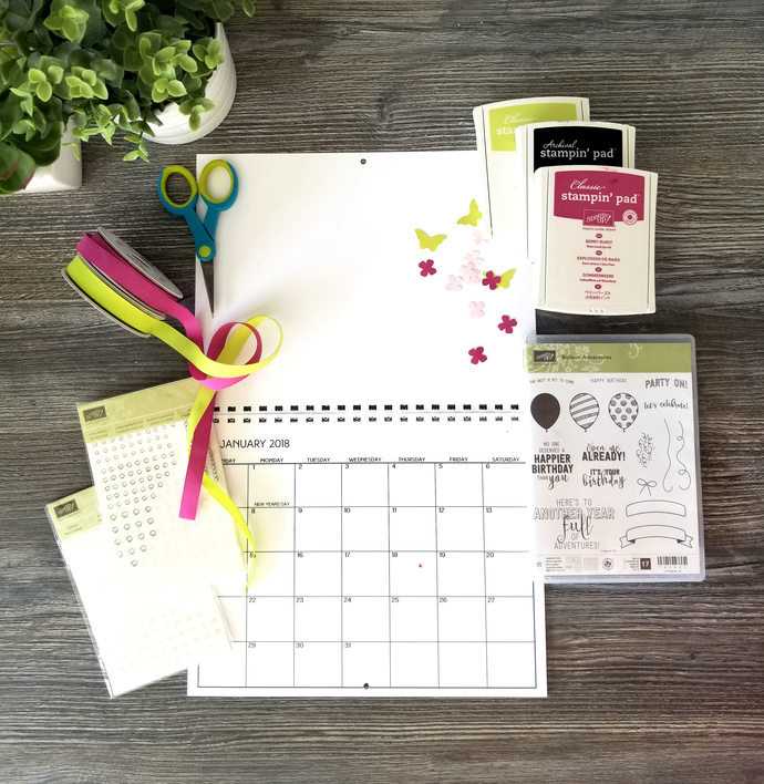 Create Your Own Art Calendar, school by WhiteOrchidPaperie on Zibbet