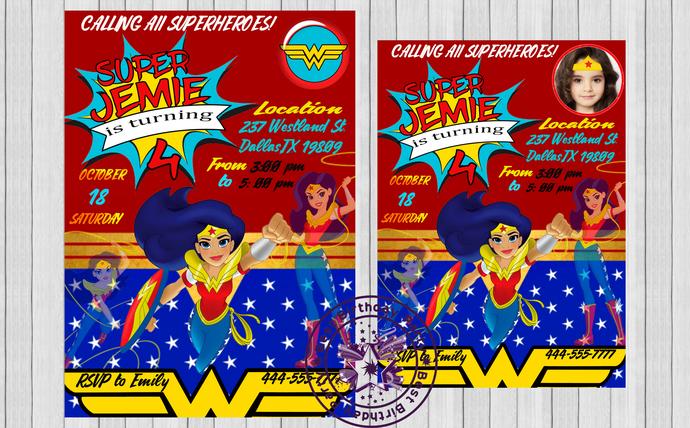 Wonder Woman Dc Superhero Birthday Party by BestBirthdayParty on