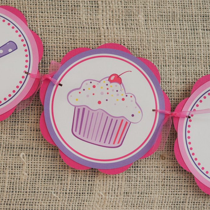 Girl Birthday Party Decorations - by GetThePartyStarted on Zibbet