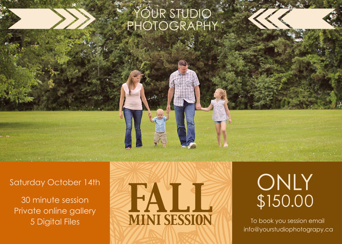 Mini Session, Fall Mini Session, Fall by SugarPickle Designs on Zibbet