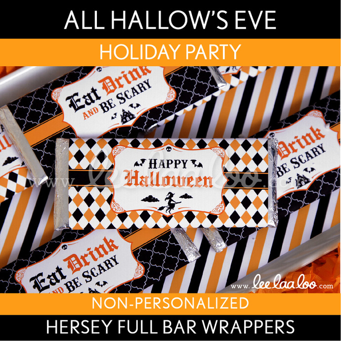 All Hallow\u0027s Eve Holiday Party Hershey Full Bar by LeeLaaLoo on Zibbet