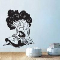 Alice in Wonderland Sleeping Under Tree Sticker by ...