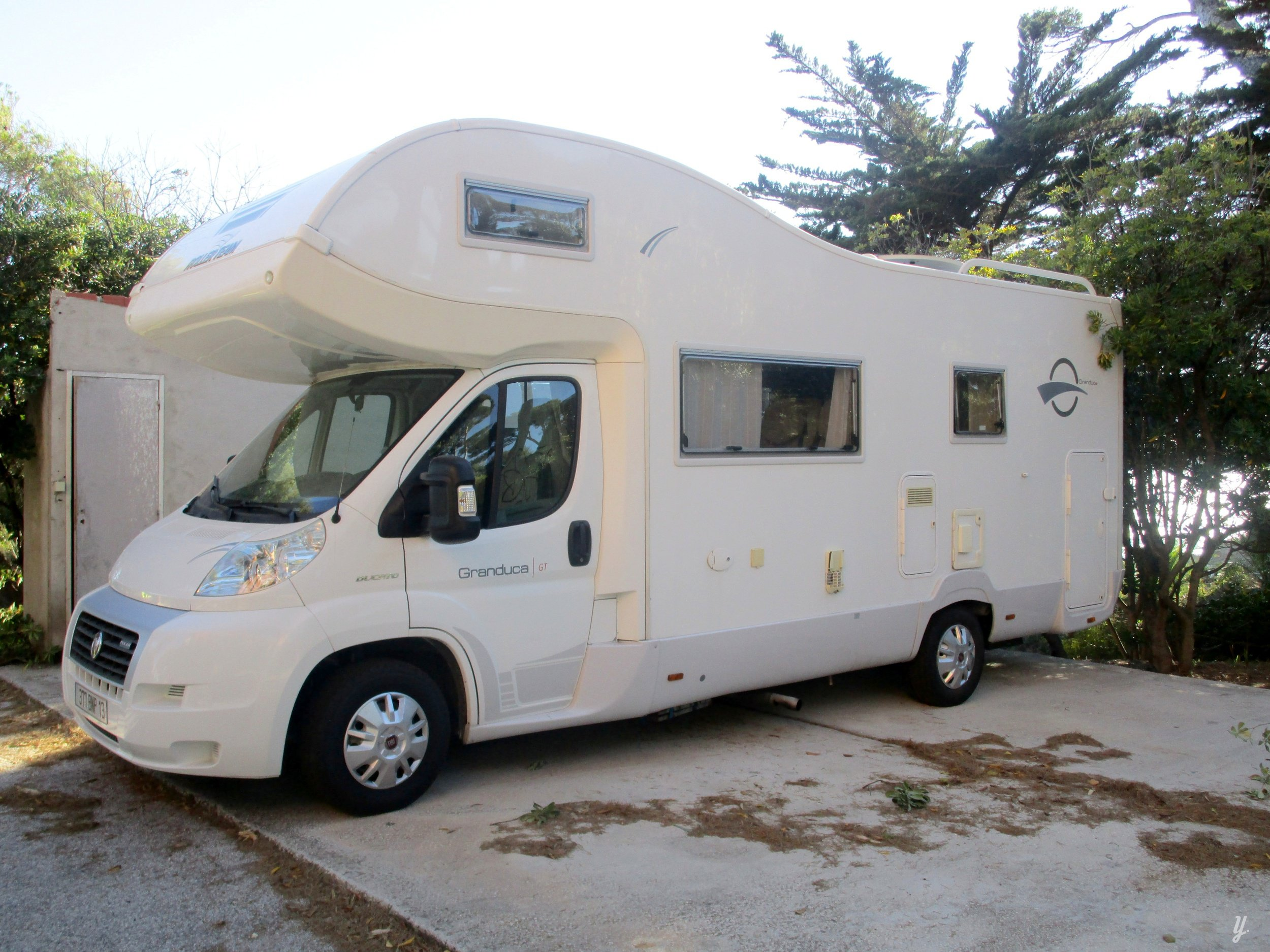 Store Exterieur Camping Car Model Ite Roller Team 2008
