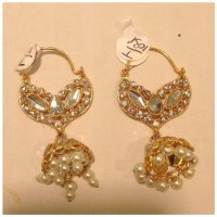 1 Gram Gold Earrings Indian Jewelry OS from Gurpreet's