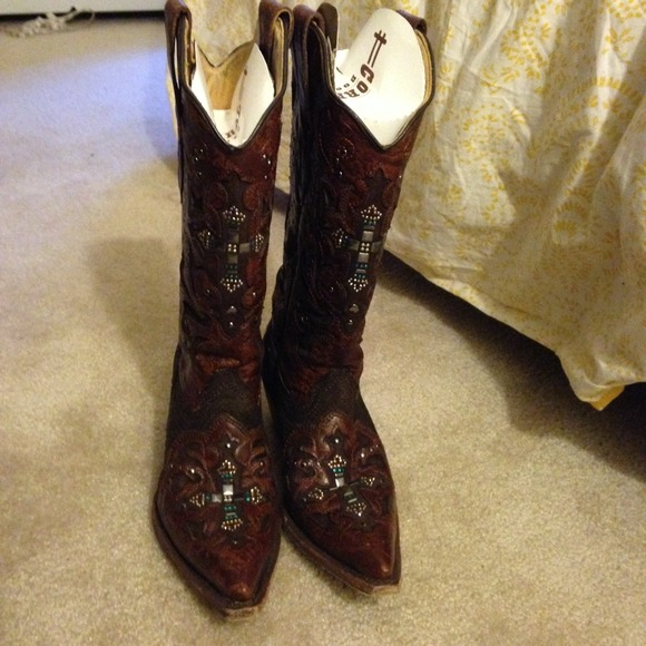 56 Off Corral Boots Last Chancecowboy Boots W