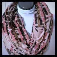 Cute infinity scarf OS from Paula's closet on Poshmark