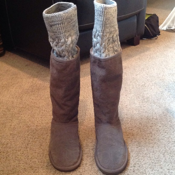 Coach Boots Ugg Style