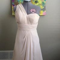 Bill Levkoff Dresses | One Shoulder Bridesmaid Dress ...
