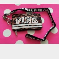 PINK Victoria's Secret - VS PINK ID holder with lanyard ...