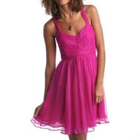 50% off Urban Outfitters Dresses & Skirts - Pink Chiffon ...