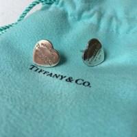 cheap tiffany and co heart earrings