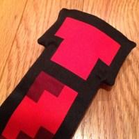 50% off ThinkGeek Accessories - Red 8-Bit Tie from Hank's ...