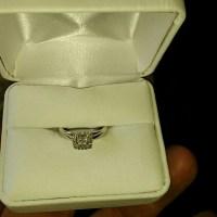 Jewelry | Platinaire 14 Ct Diamond Enagement Ring | Poshmark