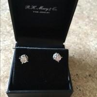 40% off Macy's Jewelry - DIAMOND STUD EARRINGS from Soya ...