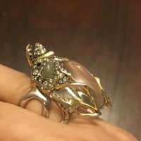 43% off Alexis Bittar Jewelry - Alexis Bittar Beetle Ring ...