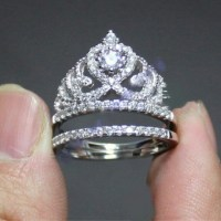 Wholesale Jewelry | 5x Lot Huge Princess Crown Ring ...